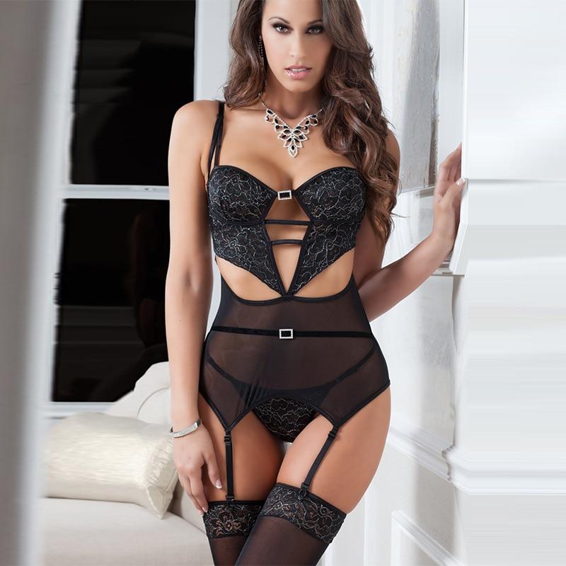 Buy ERANLEE Sexy Babydoll G String Lace mini Dress Sexy Costumes Womens Xmas Hot Sexy Lingerie Erotic Underwear Sleepwear Sex