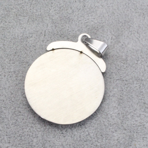 wholesale,  stainless steel Religious Islamic Muslim Allah round pendant       freeshipping