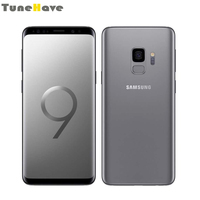 Samsung Galaxy S9 плюс S9 Dual Sim Оригинальный разблокирована 6 ГБ Оперативная память одной сим карт, c операционной системой андроид отпечатков пальце