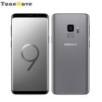 Samsung Galaxy S9 плюс S9 Dual Sim Оригинальный разблокирована 6 ГБ Оперативная память одной сим Android отпечатков пальцев IP68 Водонепроницаемый 4G LTE мобиль