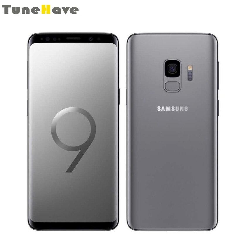 Samsung Galaxy S9 plus S9 double Sim Original débloqué 6 GB RAM simple sim Android empreinte digitale IP68 étanche 4G LTE téléphone Mobile