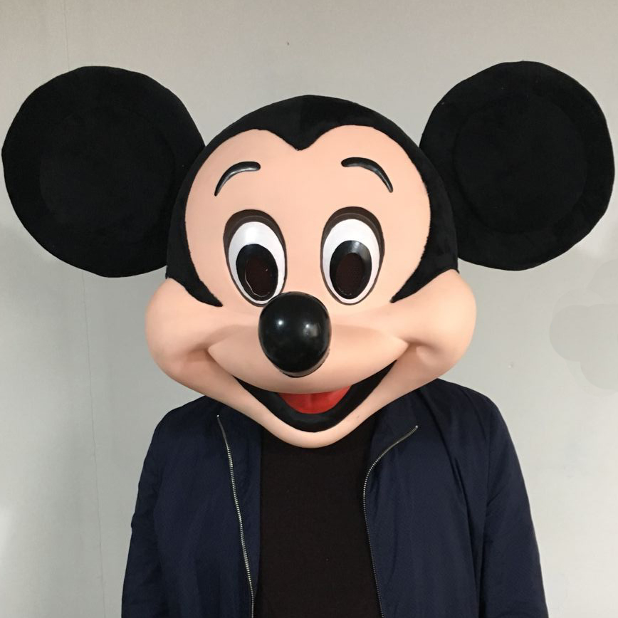real picture mickey s head mascot costume fancy dress costumes