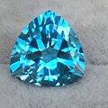 Suíça topázio azul natural pedra solta trangle forma 16*16 milímetros peso 17 ct apenas 3 pcs