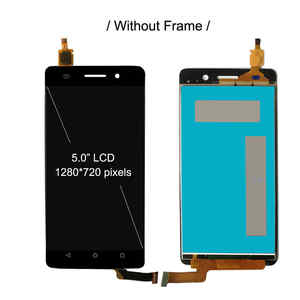 Image 3 - LCD With Frame For Huawei Honor 4C LCD Display Screen Touch Digitizer Assembly For Huawei G Play mini Display CHM U01 CHC U23