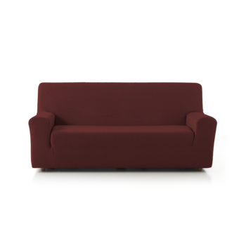 Rustic Sofa Cover Red