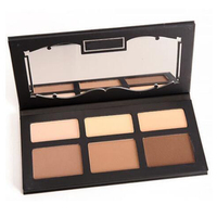 Eye Makeup Shade And Light Face Contour Palette 6 4 Color Eyeshadow Palette Full Size Brand