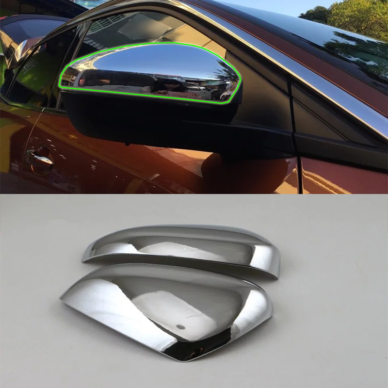 ABS car accessories door mirror cover 2pcs Car Styling For Peugeot 3008 2017