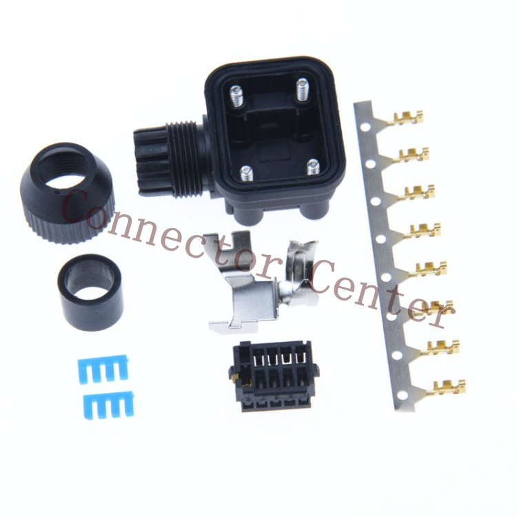 Servo Motor MR J3 E Series encoder plug 9PIN Compatible with 1674320 1 Connector