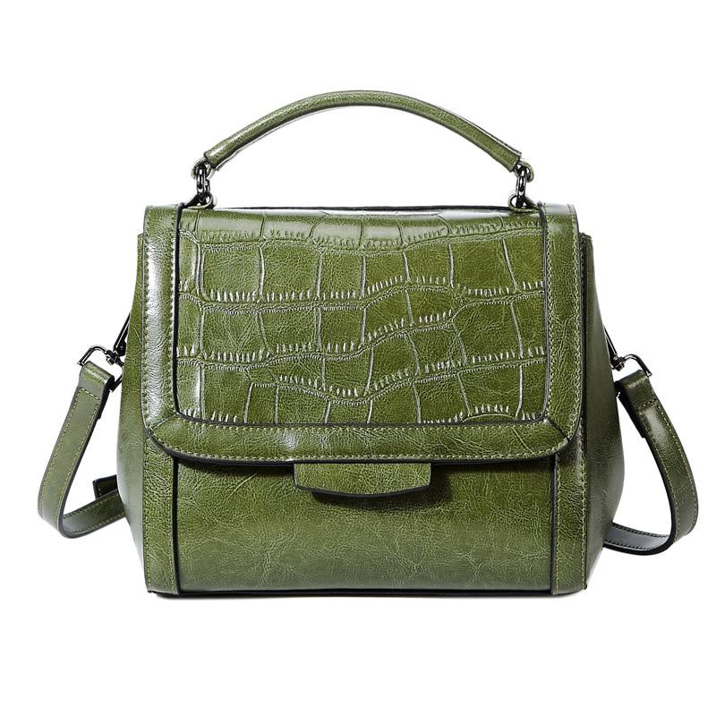 Vintage Tote Women Leather Handbags Ladies Party Shoulder Bags Fashion Female Messenger Bags bolsa feminina Sac A Main new C547