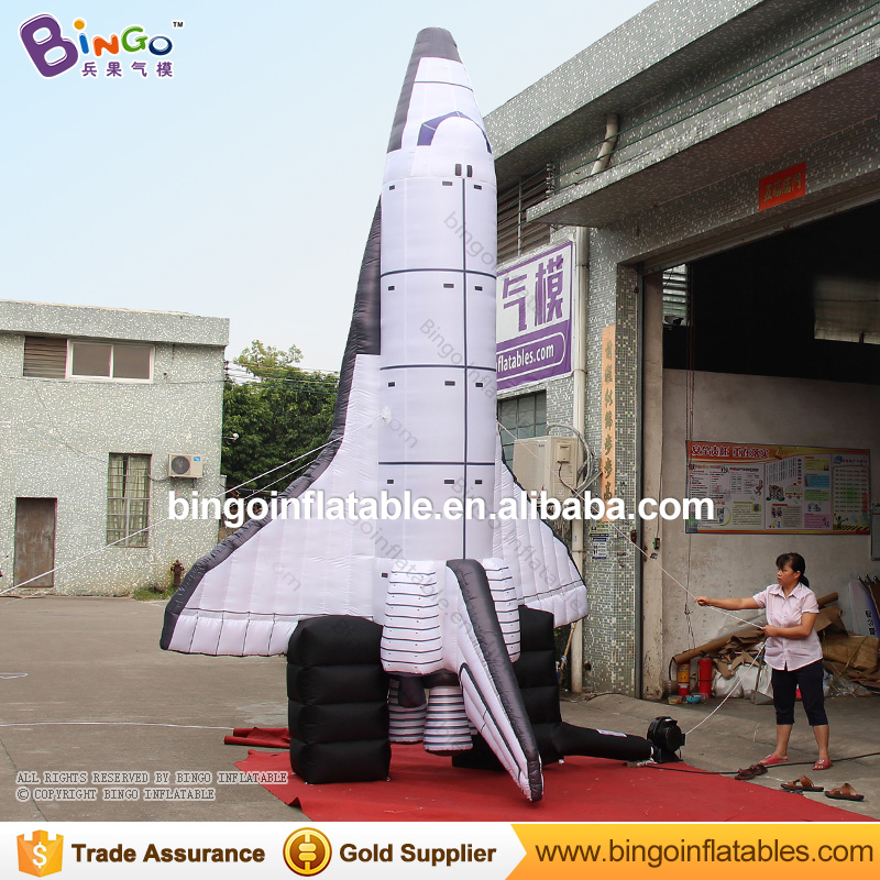 16.4ft high giant inflatable spaceship , inflatable dirigible , air blown airship for decoration toys giant inflatable balloon for decoration and advertisements