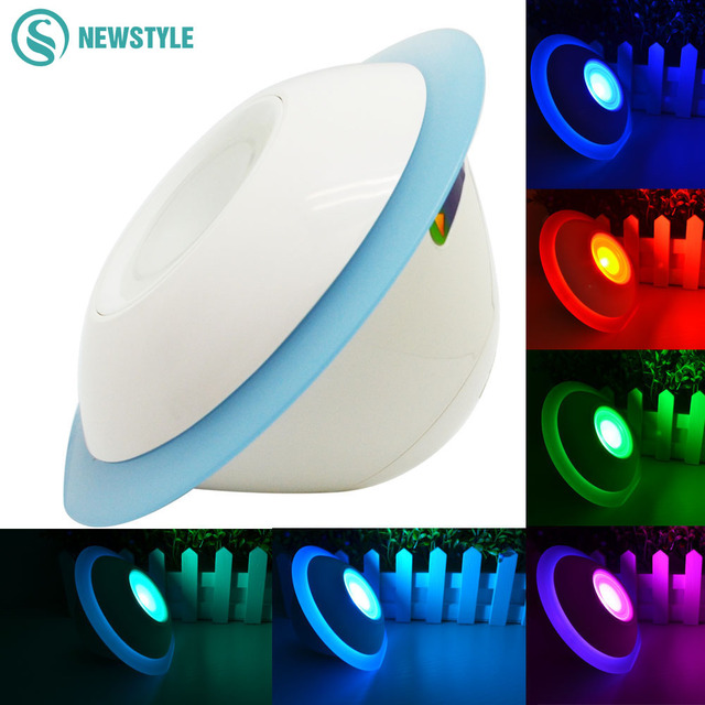 Led Night Light Unique Ufo Shape Touch Sensor Screen Mood Lamp 256 Colors Colorful