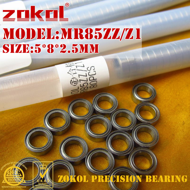 zokol ložiska - ZOKOL bearing MR85 ZZ Z1 mr85zz MR85Z Miniature  Deep Groove ball bearing 5*8*2.5mm
