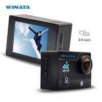 Free Ship 4K 2 7K 30FPS Action Camera FHD 1080P 60FPS WIFI Mini Sports Camera 2