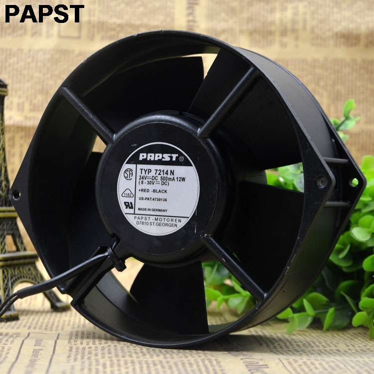 все цены на PAPST New original  Blowers 7214N 15055 24V 12W wind capacity axial fan онлайн