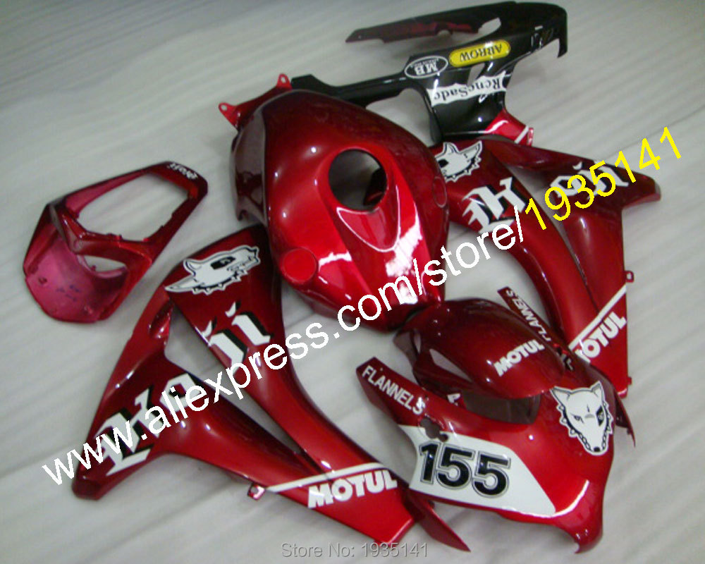Hot Sales,Red black 155 For Honda CBR 1000RR 2008 -2011 CBR1000 RR 08-11 sport motorcycle body work fairing (Injection molding) arashi motorcycle radiator grille protective cover grill guard protector for 2008 2009 2010 2011 honda cbr1000rr cbr 1000 rr
