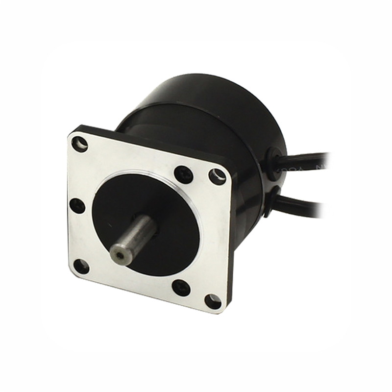 купить Square flange 57mm Round body 24V 3000RPM 34W 0.11N.m Brushless DC Motor 3phase body length 55mm BLDC motor онлайн