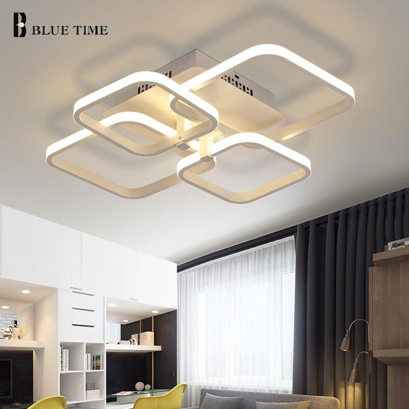 Anillos LED araña moderna para sala comedor dormitorio Cocina Led ...