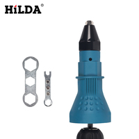 HILDA Nut Gun Electric Rivet Riveting Tool Cordless Riveting Drill Adaptor Insert Nut Tool