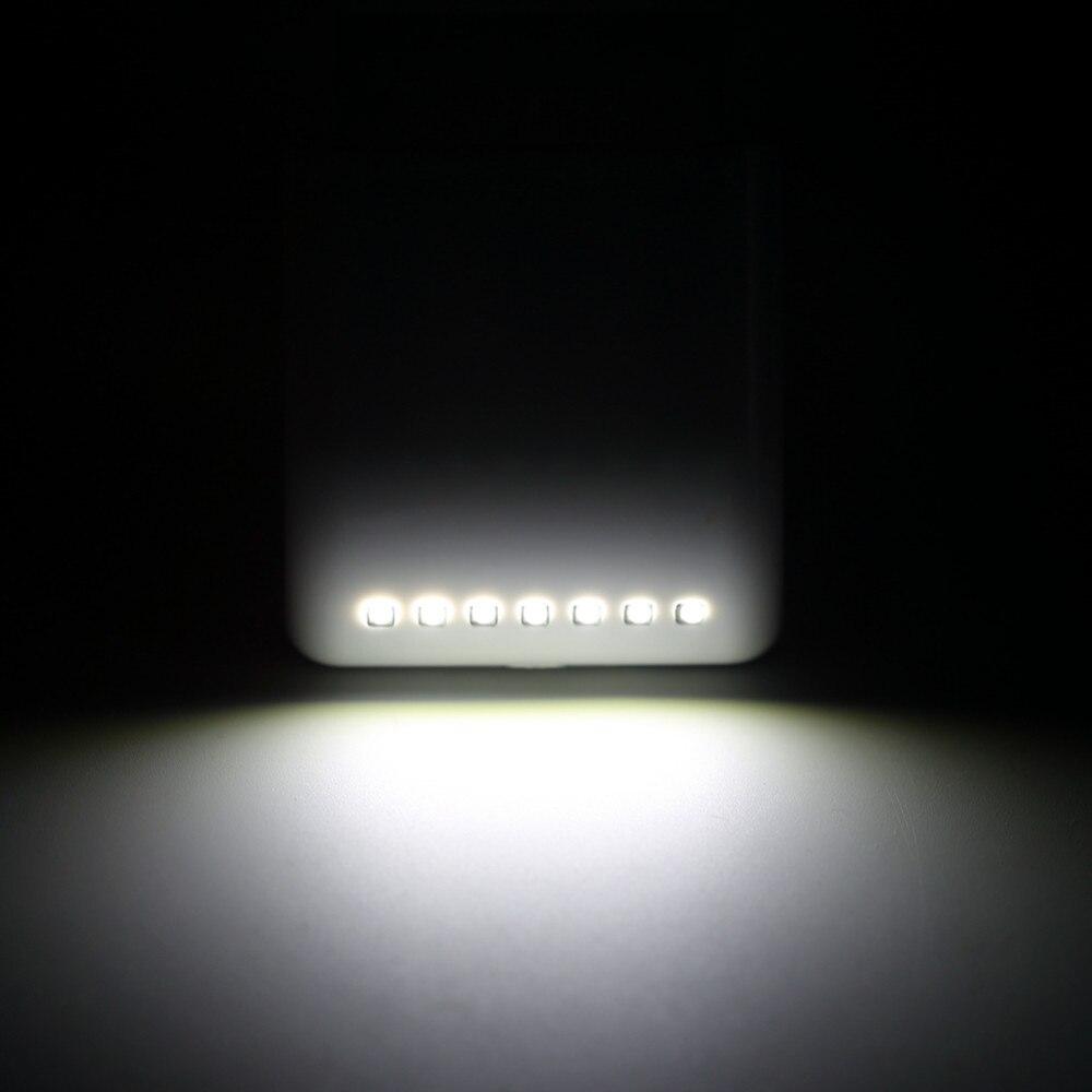 3pcs Cabinet Hinges Light 7 LED Control Sensor Night Lamp ABS ...