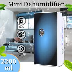 2200ml 220V Intelligent Timing Home Office Air Dryer Eliminating Moisture Electric Mini Desiccant Compact Absorb Dehumidifier