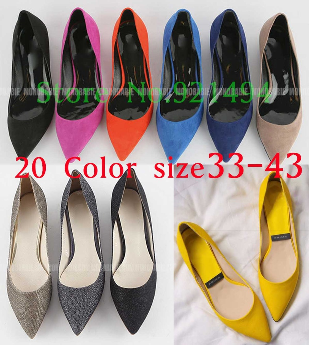 cd311e18cd 2015 Plus size 32 33 43 10 women's flats Red Ballerina Flats Bridal Leather  Ballet Flats Nude Black Jelly Color Women's Shoes-in Women's Flats from  Shoes on ...
