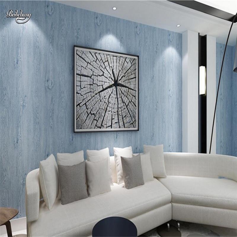 Beibehang Nonwovens papier peint en bois Texture en bois salon chambre TV fond mur vêtements papier peint
