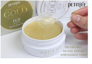 Image 5 - PETITFEE Gold EGF Eye & Spot Patch Eye Mask 90Pcs (Eye Mask 60ชิ้น + Spot Patch 30ชิ้น) collagen Eye Care Remover Dark Circles Eyeกระเป๋า