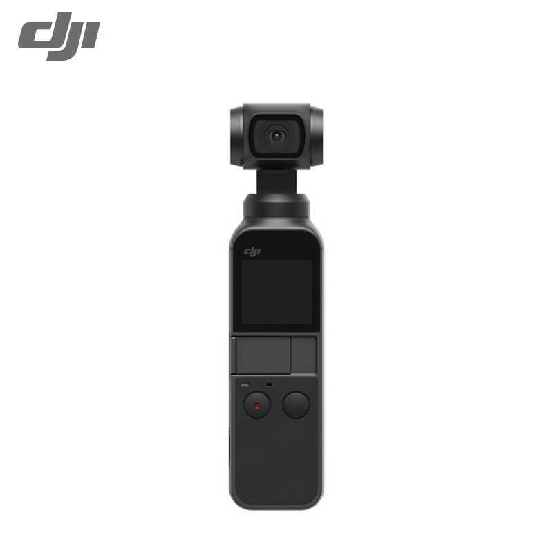 DJI Gimbal-Stabilizer Camera Pocket Compact Video 4K 12MP 3-Axis Battery Intelligent