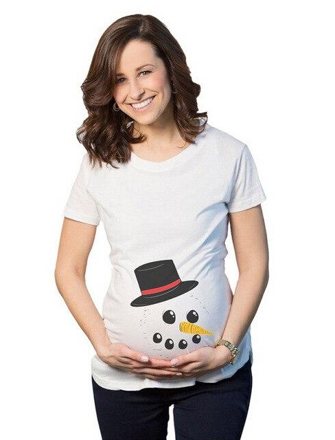 Материнства Хэллоуин Футболки Смешно Беременность Ти забавный топы материнства беременных футболка для беременных одежда для беременных