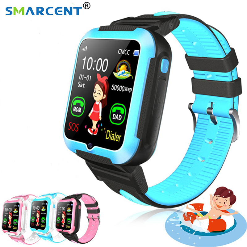 E7 Children Smart Watch AGPS LBS Location Waterproof Kid Baby SmartWatch Touch Screen Wristwatch For IOS Android PK DF27