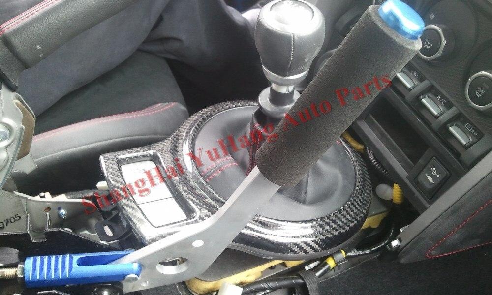 Авто Запчасти-углеродного волокна Шестерни объемный чехол накладка для BRZ ZC6 Toyota FT86 ZN6 Scion GT86