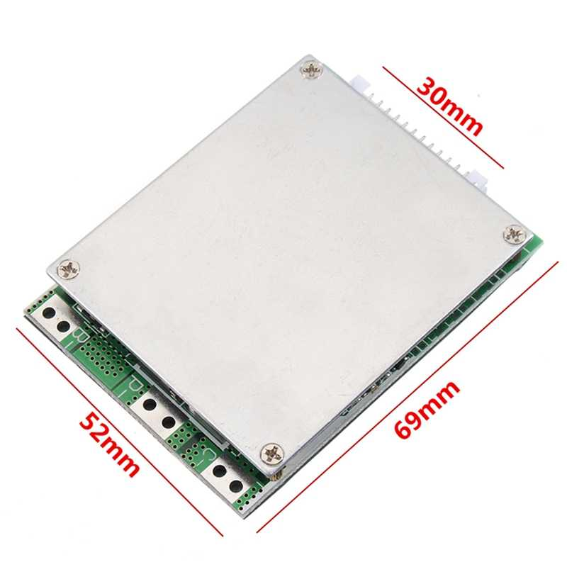 13S 48V 20A Li-Ion Lithium Cell Battery Protection Bms Pcb Board Protection With Balance For E-Bike Electric Scooter