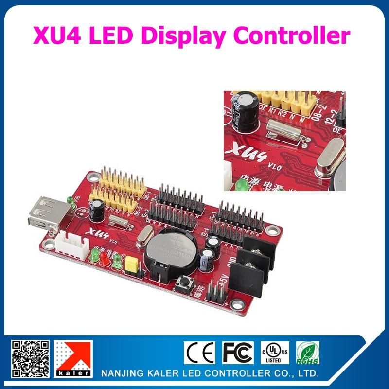 5pcs/lot Xu4 1024*64 Pixel Signle Color 512*64 Dual Color 512*32 Full Color P5 P6 P8 P10 P16 P20 P13.33 Led Display Control Card