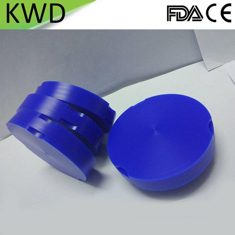5 Pieces Lot Dental Zirkonzahn Blocks 95mm 10 12 14 16 18mm Blue Lab Dental Wax