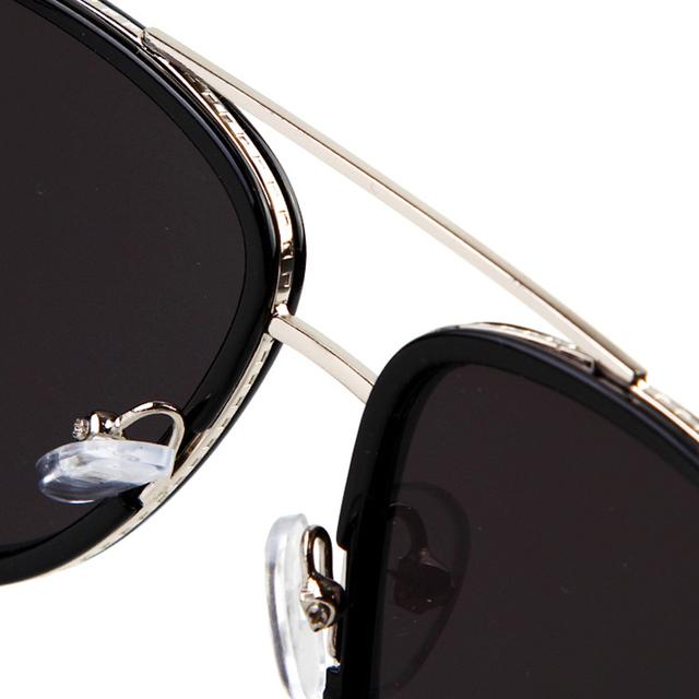 Barcur Men's Fashion Mirrored Sunglasses