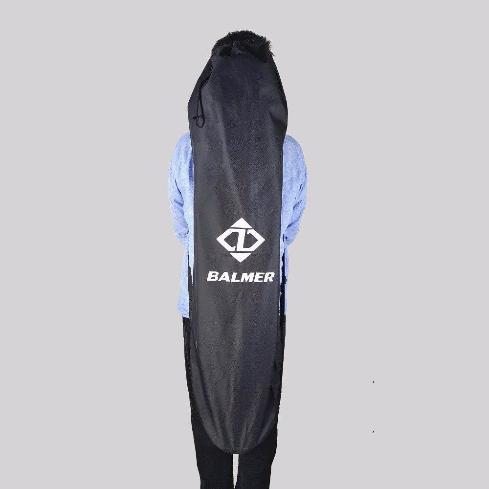 Prix pour 120X38 cm Longboard Sacs Noir Longue Planche et 78X28 cm fishboard sac Sac À Dos À Roulettes Double Shouler cordon Sacs