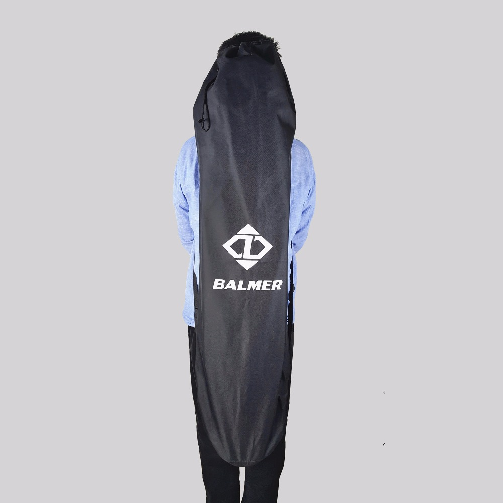 120X38cm Longboard somas Black Long Board un 78X28cm zivju klāja soma Skateboard Backpack Double Shouler Bags