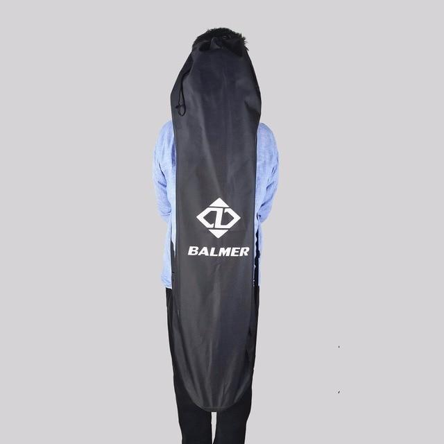 120X38cm Longboard Bags Black Long Board and 78X28cm fishboard bag Skateboard Backpack Double Shouler Drawstring Bags