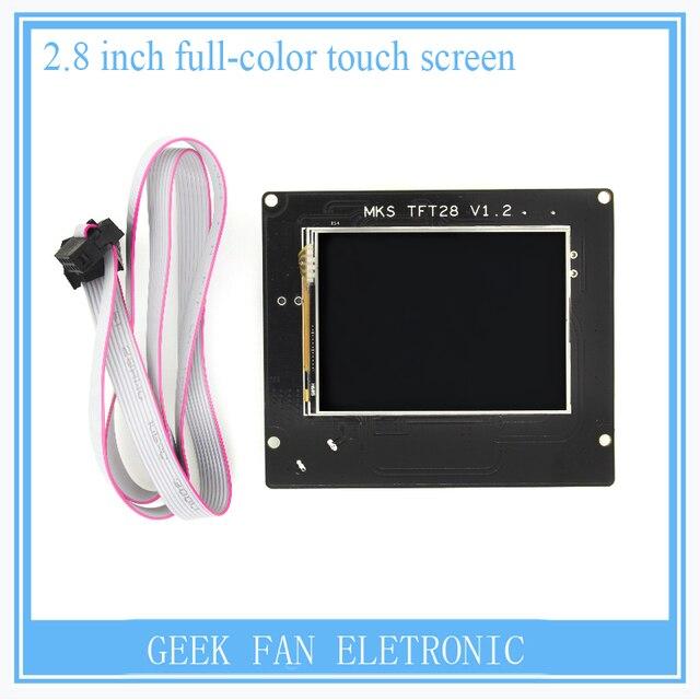 3D Принтер 2.8 Дюймов Полноцветный Сенсорный ЖК-Экран МКС TFT28 V1.2