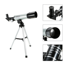 лучшая цена Outdoor Travel Spotting Scope HD 90X Zoom F36050/F50360 Telescope Refractive Space Astronomical Telescope Monocular with Tripod