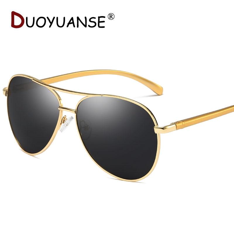 Nya män klassiska polariserade solglasögon aluminium magnesium - Kläder tillbehör - Foto 1
