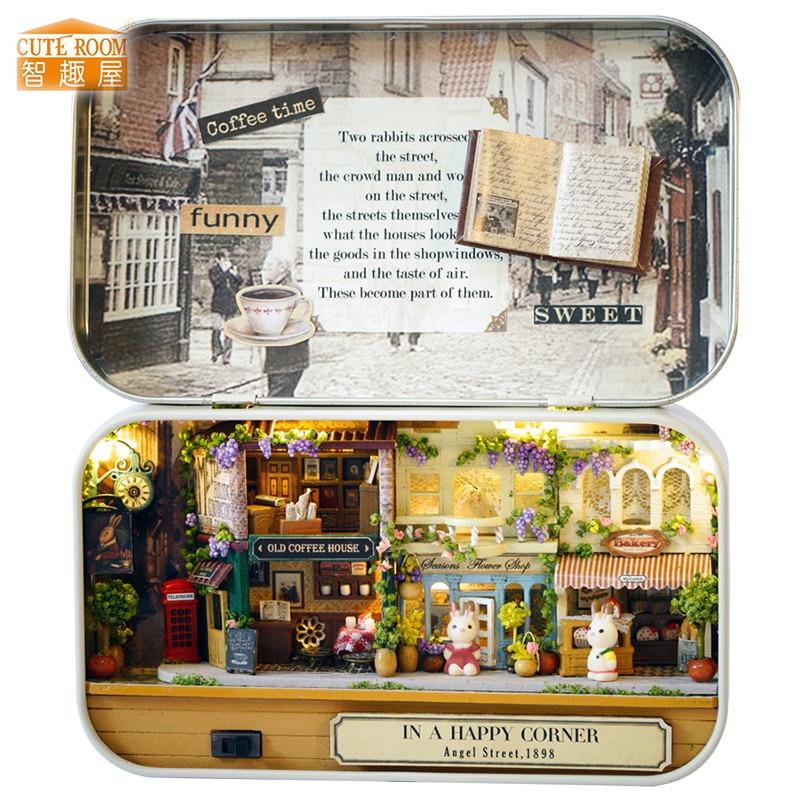 Meubles bricolage maison de poupée Wodden Miniatura maisons de - Poupées et accessoires - Photo 1