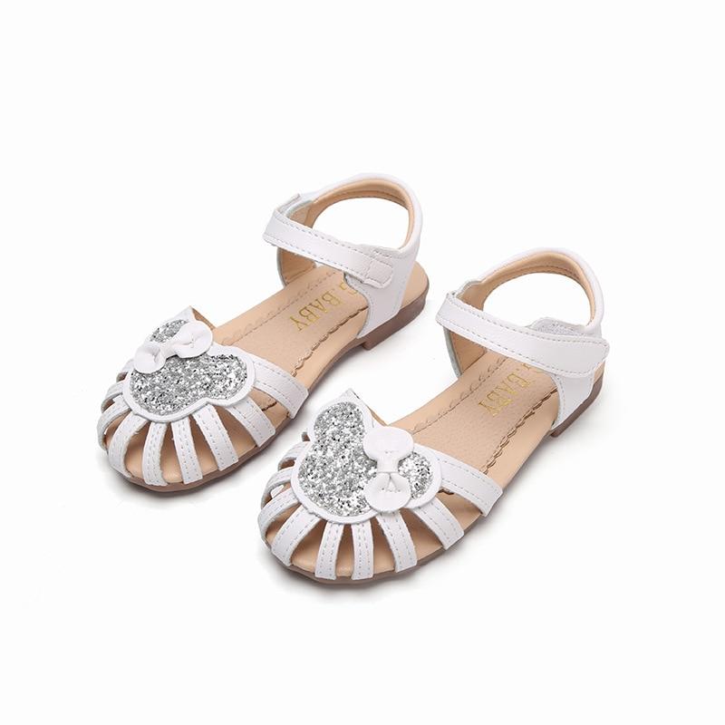 Cute Summer Toddler Girls Sandals Fashion Children Princess Shoes for Summer