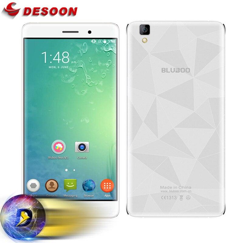 """Цена за Оригинальные Bluboo Майя Мобильного Телефона MT6580A Quad Core Android 6.0 13MP Сотовый Телефон 5.5 """"HD 2 ГБ RAM 16 ГБ ROM 3000 мАч Батареи"""