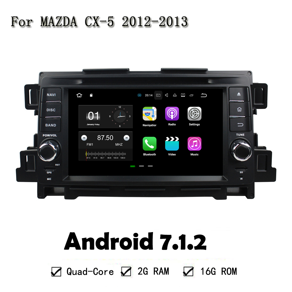 7 Quad Core Android 7 1 2 Car font b GPS b font Navi Head Unit