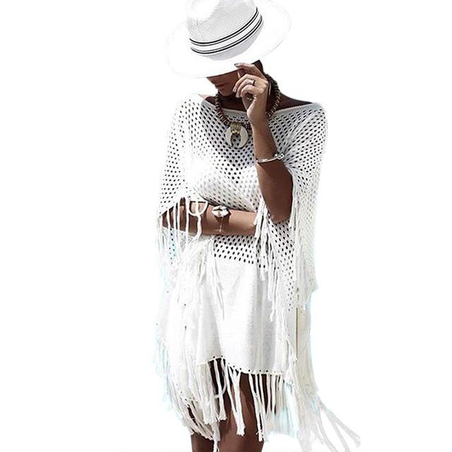 c7a40c2437b09 Cheap Beach Cover Women's Tunic Woman Cover-Up Women Summer Dress Ladies' Swimwear  2018