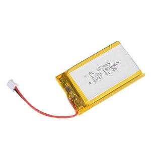 DVISI источник питания DC 3,7 V 1800mAh 103450 литий-ионная аккумуляторная литий-полимерная батарея Li-Po для MP3 PSP GPS электронная часть