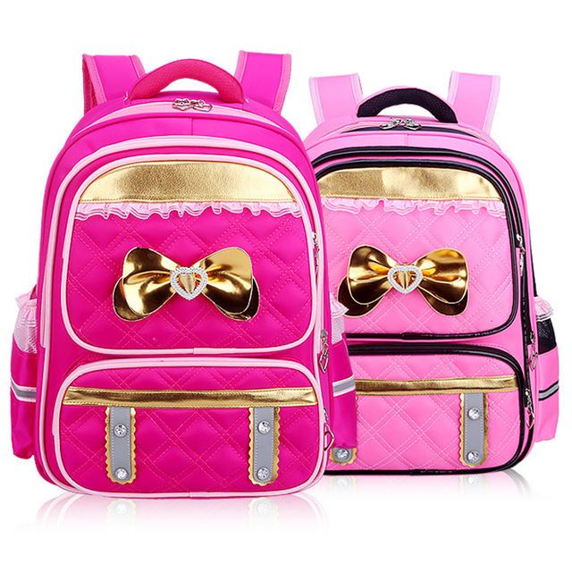 New Girls Backpacks 2016 Girls School Bags Princess Children ...