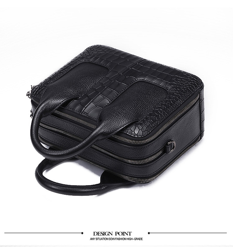 Qiwang Nice Box Bags Luxury Fashion Women Lay Bag 17 Italian Crocodile Handbags Purse Leather Lady Hand Collection Bag 7