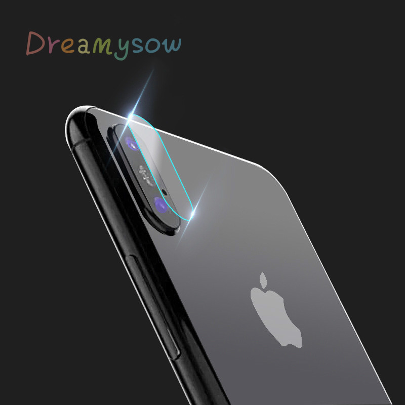hot sale Clear HD Lens Film For iPhone 6 6s 7 8 Plus X Rear Camera Cover Back Lens Screen Protector Tempered Glass Anti-Scratch